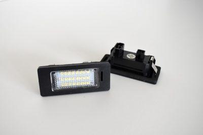 BMW LED numerių apšvietimas