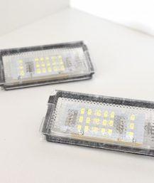 BMW E46 LED numerių apšvietimo lemputės