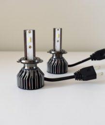 H7 G4 LED lemputės priekiniams žibintams