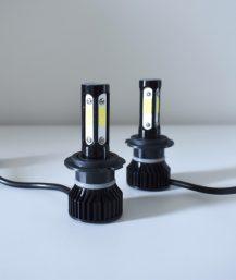 H7 LED lemputės priekiniams žibintams 6000K.