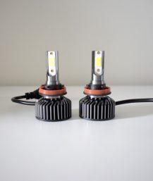 H8 / H9 / H11 / LED lemputės priekiniams žibintams 6500K.