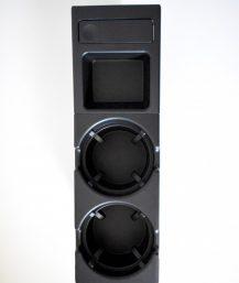 BMW E46 puodelių laikikliai su daiktadėže