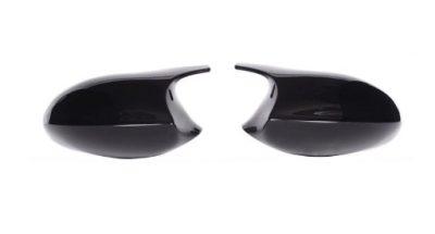 BMW E90 LCI juodi M stiliaus veidrodėlių dangteliai