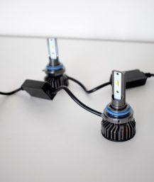 HB4 LED lemputės 6000K